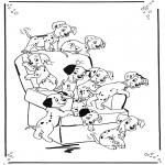 Tegneseriefigurer - 101 Dalmatians 1
