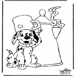 Tegneseriefigurer - 101 Dalmatians 10