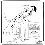 Tegneseriefigurer - 101 Dalmatians 6