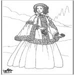 Litt av hvert - 19th century lady 1