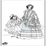 Litt av hvert - 19th century lady 2