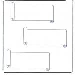 Litt av hvert - 3 paper scrolls