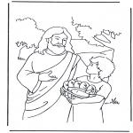 Bibelsk - 5 bread and 2 fish 4
