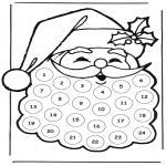 Jul - adventskalender kerstman