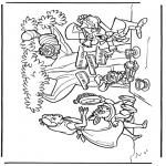 Tegneseriefigurer - Alice in Wonderland 2