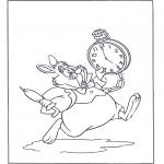 Tegneseriefigurer - Alice in Wonderland 5