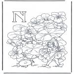 Litt av hvert - Alphabet N