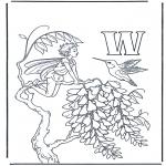 Litt av hvert - Alphabet W