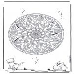Mandala - Animal geomandala 2