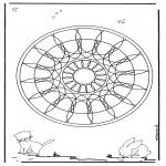 Mandala - Animal geomandala 4