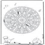 Mandala - Animal geomandala 6