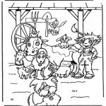 Dyr - Animals on the farm