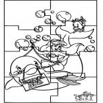 Kreativitet - Ariël puzzle
