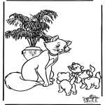 Tegneseriefigurer - Aristocats 2