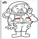 Litt av hvert - Astronaut cat