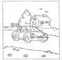 Auto en huis