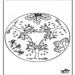 Mandala - Autumn mandala 1