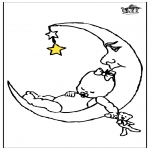 Småbarn - Baby and moon