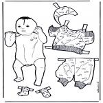 Kreativitet - Baby dress up