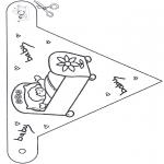 Temaer - Baby flag 1