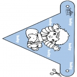Temaer - Baby flag 2