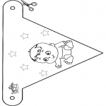 Temaer - Baby flag 4