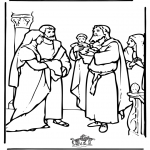 Bibelsk - Baby Jesus in the temple