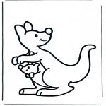 Småbarn - Baby kangaroo