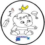 Temaer - Baby - Pricking card 3