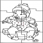 Temaer - Baby puzzle 1