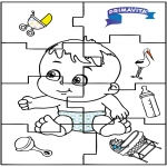 Temaer - Baby puzzle 2