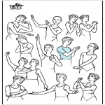 Litt av hvert - Ballet postures