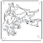 Tegneseriefigurer - Bambi 1
