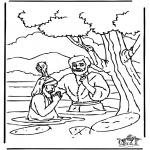 Bibelsk - Baptism Jesus
