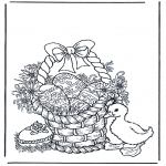 Temaer - Basket with eggs
