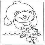 Dyr - Bear and frog