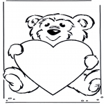Litt av hvert - Bear with heart