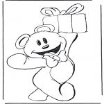 Temaer - Bear with present