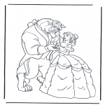Tegneseriefigurer - Beauty and the Beast 7