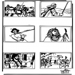 Bibelsk - Bible coloring page 4