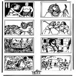 Bibelsk - Bible coloring page 5