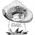 Kreativitet - Birthday card 1
