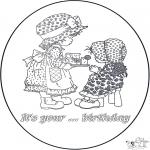 Kreativitet - Birthday card 2