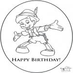 Kreativitet - Birthday card 3