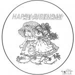 Kreativitet - Birthday card