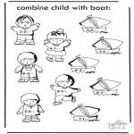 Kreativitet - Boat and child