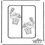 Kreativitet - Bookmark Alice