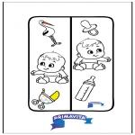 Kreativitet - Bookmark Baby