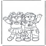 Småbarn - Boy and girl