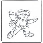 Småbarn - Boy with bag